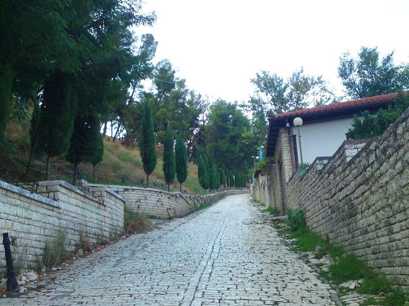 城までの坂道1